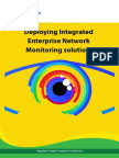 Deploying Integrated Enterprise Network Monitoring solutions