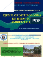 Cap. II-Aejemplos de Tipologia de Impactos Ambientales