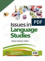 Issues in Language Studies