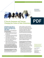 IT Security Awareness And Training