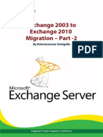 Exchange 2003 to 2010 Migration – Part -2 - Happiest Minds