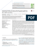 Compound Astragalus and Salvia Miltiorrhiza Extract Suppresses Hepatocellular Carcinoma Progression by Inhibiting Fibrosis and PAI 1 MRNA Transcriptio
