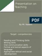 English Presentation on Teaching.pptx