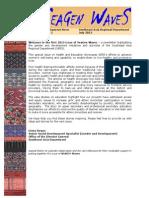 SEAGEN Waves Newsletter, Issue No. 1, 2015