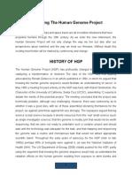 Describing the Human Genome Project