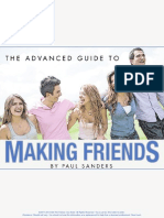 Paul Sanders - The Advanced Guide to Making Friends
