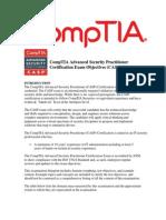 CompTIA CAS-002 VCE Objectives