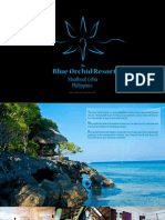 Blue Orchid Resort Brochure