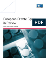 EUR Private Equity Review FY2009