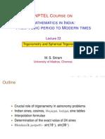 33 Trigonometry I (MSS)
