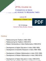 40 Modern India II (MDS)