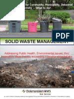Solid Waste Management Brochure