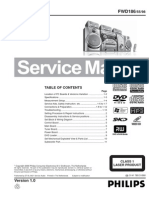 Philips FWD186 Service Manual, Repair Schematics, Online Download