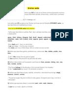 English Bachillerato - stative+verbs theory grammar