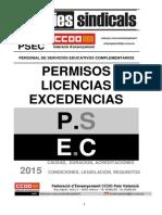 2015844-Guia 2015 de Permisos, Llicencies i Excedencies PSEC Castella