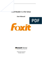 FoxitReader1.1ForLinux Manual