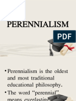 Perennialism and Essentialism