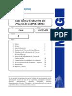 cuestionario para control interno en una auditoria gubernamental