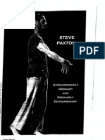 Contact Improvisation Steve Paxton