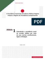A Previdência Social Dos Servidores Públicos - Modulo 1