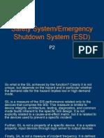 Safety System - Emergency Shutdown System P2