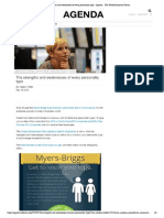 The Strengths and Weaknesses of Every Personality Type - Agenda - The World Economic Forum