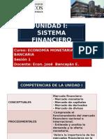 Sesión 1 Economía Monetaria y Bancaria Unmsm 2015-2