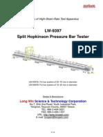 Hopkinson Pressure Bar Tester