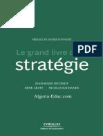 Ducreux Jean-Marie - Rene Abate - Kachaner Nicolas - Le Grand Livre de La Strategie