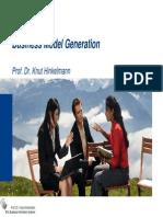 EA 3 Business Model Generation