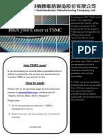 2013 TSMC SG Recruit Flyer_Final