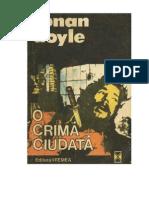 Arthur Conan Doyle  - O crima ciudata.pdf