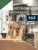 Caterpillar 950G-980G Series II Wheel Loaders Update Conference 2002