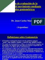 Metodo de evaluacion Goniometría