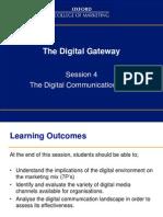 Digital Catch Up Session 4 June 2103