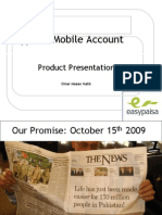 Easypaisa Mobile Account Product Presentation