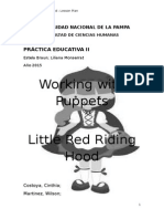 Puppets - Lesson Plan - Little Red Riding Hood