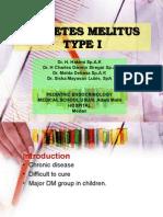 K - 34 Diabetes Mellitus Tipe I (Ilmu Kesehatan Anak)