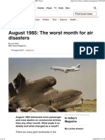August 1985_ the Worst Month for Air Disasters - BBC News
