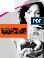 Supporting SME - Participation in research framework programmes
