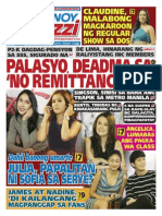Pinoy Parazzi Vol 8 Issue 105  August 28 - 30, 2015