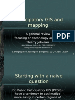 Participatory GIS and mapping