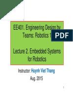EE401-3!2015 EmbeddedSystems