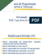 Linguagens e Programao de Compiladores Aula 01