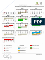 Calendario cecytem