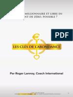 Des Dettes Aux Millions Roger Lannoy