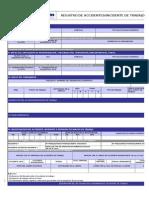F1-SIG-09 Registro de Incidente-Accidente de Trabajo