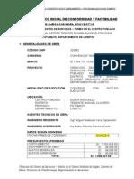 Informe Tecnico Inal de Obra - Kigkis