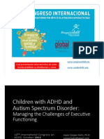 Autismo y Tdah