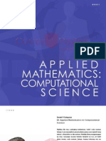 Applied Math - Computational Science